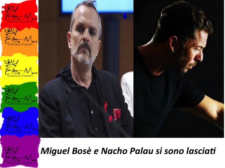 MIGUEL BOSÈ E NACHO PALAU