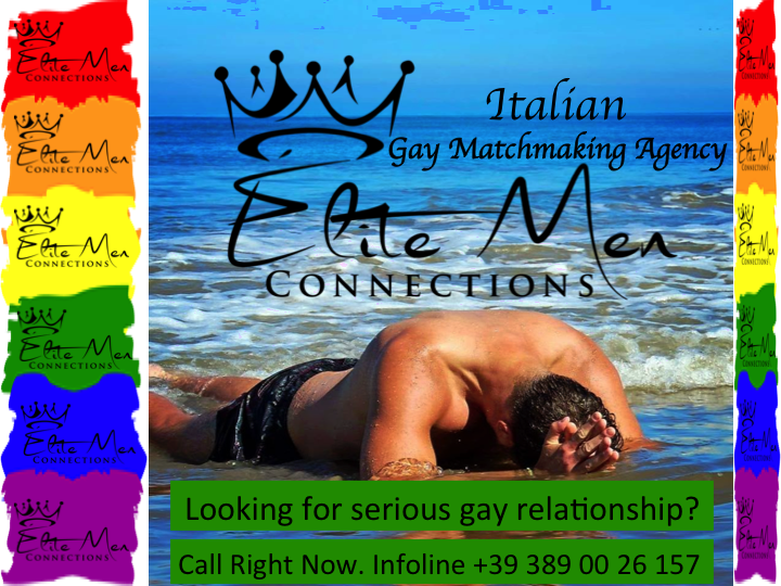 ragazzo gay single al mare. Partner gay, anima gemella gay