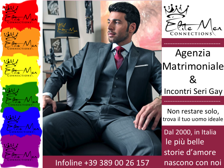 Incontri seri gay, Agenzia Matrimoniale Gay