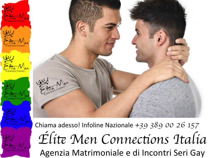Relazione omosessuale e coppia gay felice