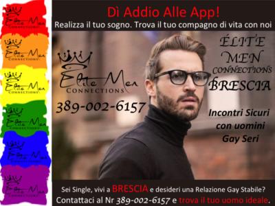 Brescia Incontri seri gay, Agenzia gay e relazione stabile gay